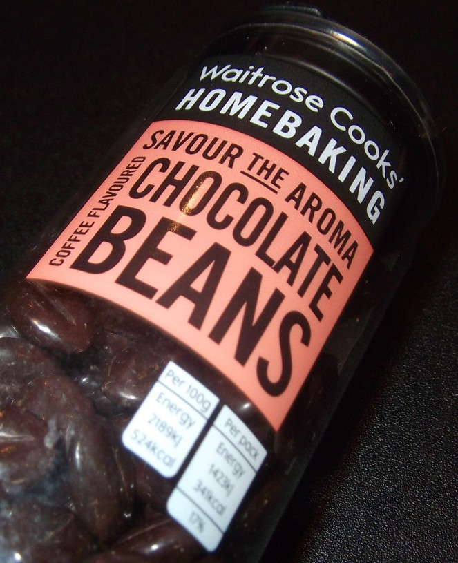 waitrose coffee flavoured chocolate beans one treat at a. Black Bedroom Furniture Sets. Home Design Ideas