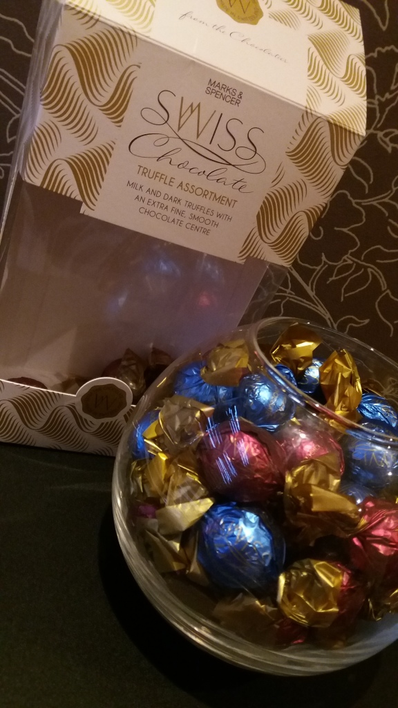 Insta Review Ms Swiss Chocolate Truffle Assortment One